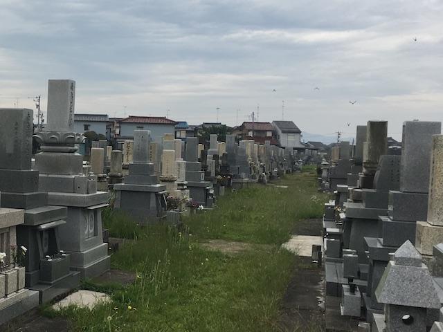 高岡市営 戸出墓地03