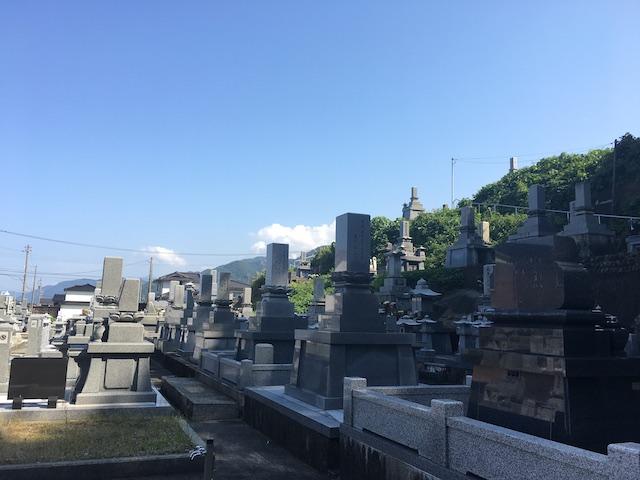朝日町営宮崎墓地04