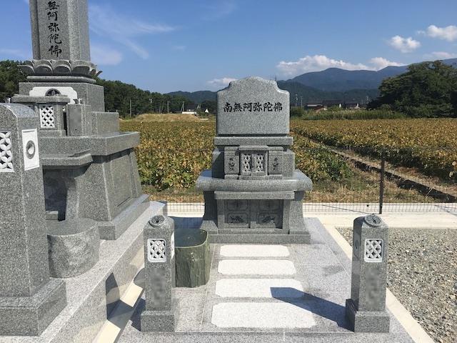 朝日町営浜草野墓地01