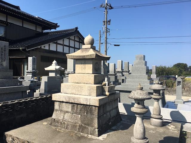 朝日町営高畠墓地04