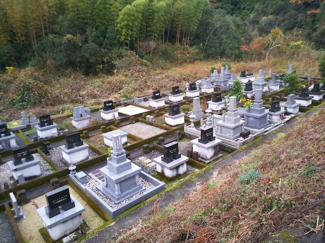 高知市営 下秋山墓地-01