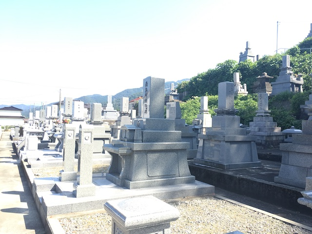 朝日町営宮崎墓地05