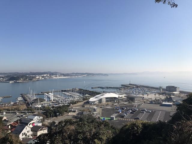江の島大師−寺院からの景色