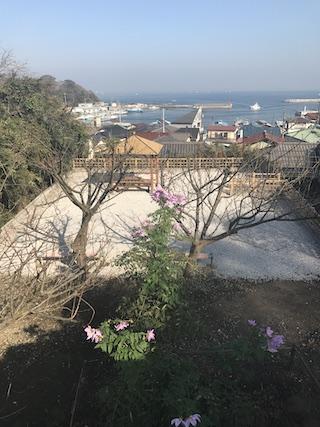 大泉寺墓地−霊園からの風景