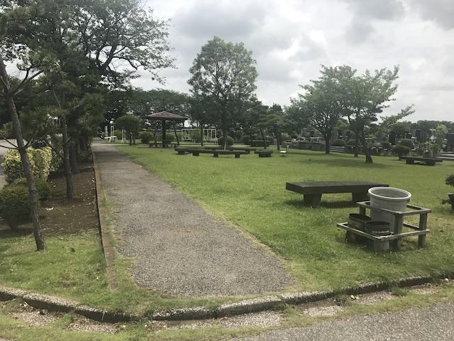 船橋市営 馬込霊園−緑地帯