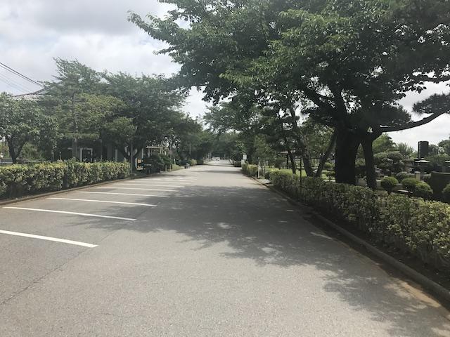 船橋市営 馬込霊園−駐車場