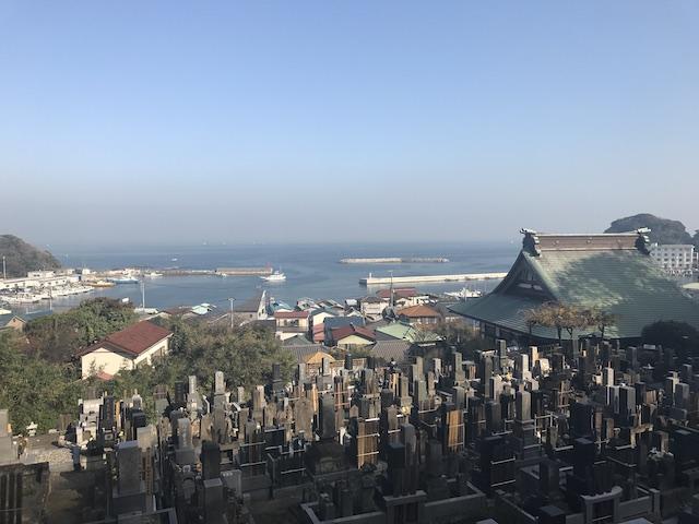 大泉寺墓地−霊園全体