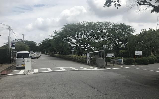 船橋市営 馬込霊園−入り口