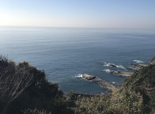 江の島大師−寺院からの風景