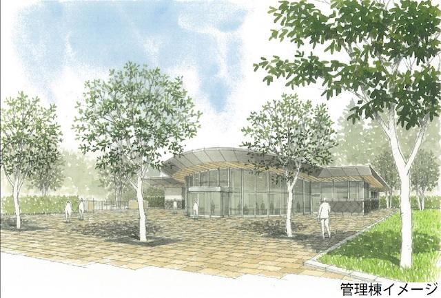 横浜市営(仮称)舞岡墓園−管理棟