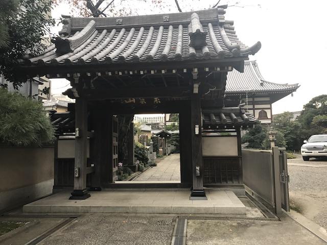 来迎寺−寺院山門