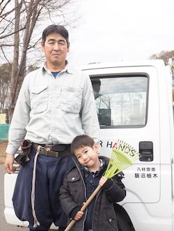 千葉県松戸市のお墓のお掃除、植木の手入れ、飯沼植木_04