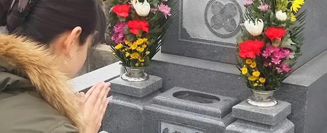 千葉県松戸市のお墓のお掃除、植木の手入れ、飯沼植木_06