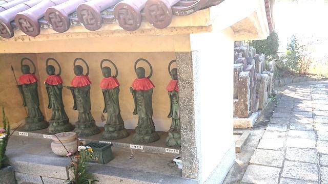 善福寺墓地−六地蔵