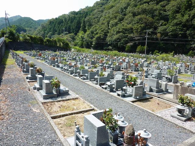松山市営 垣生墓地_01