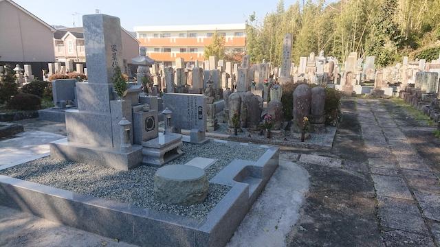 善福寺墓地−霊園1