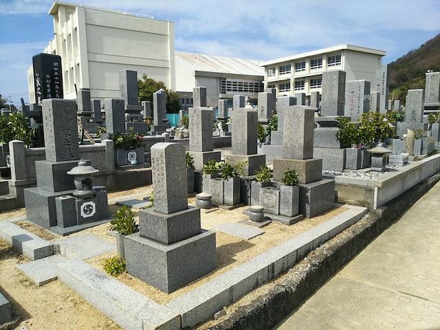 松山市営 梅津寺墓地05