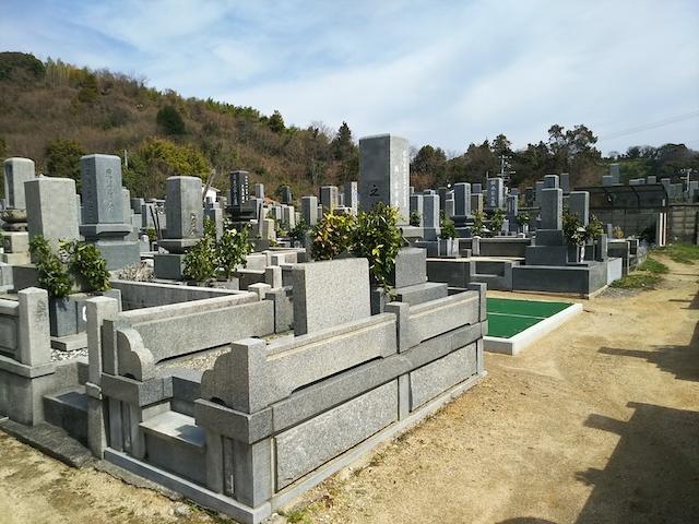 松山市営 梅津寺墓地06