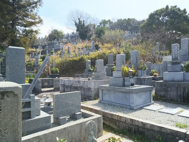 松山市営 宝塔寺境外墓地02