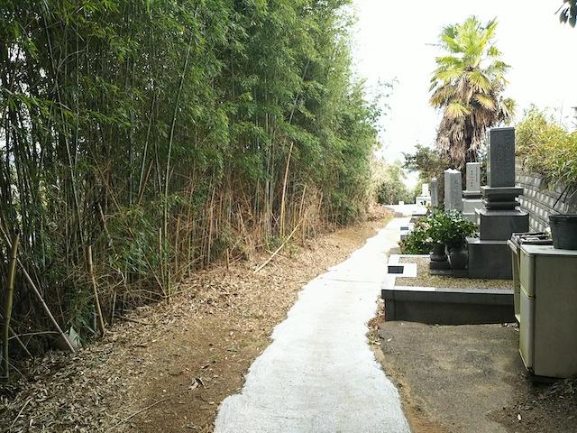 松山市営 馬木墓地05