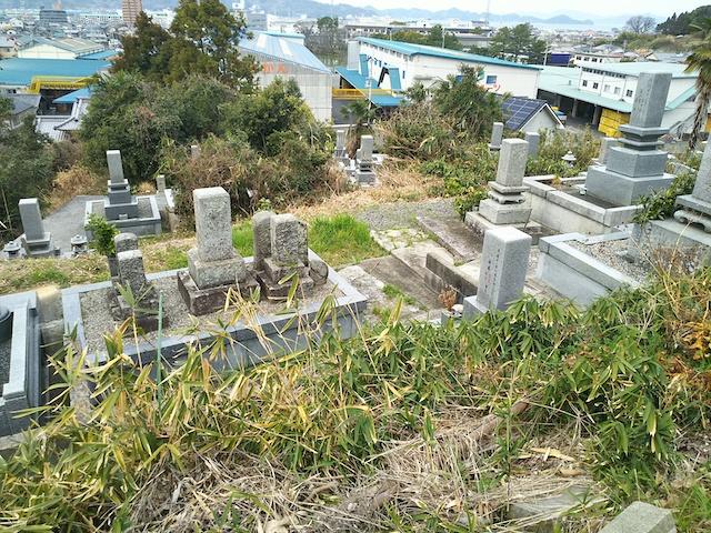 松山市営 馬木墓地02