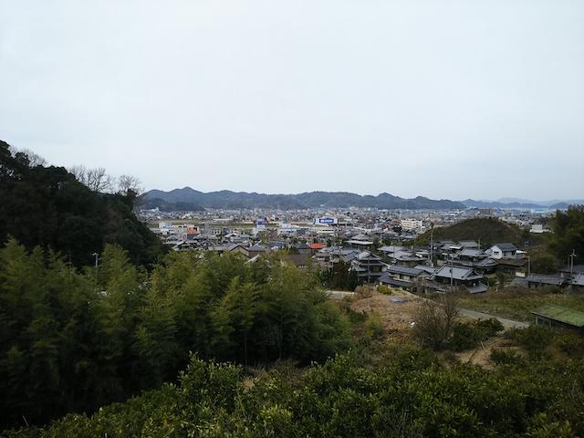 松山市営 平田墓地01