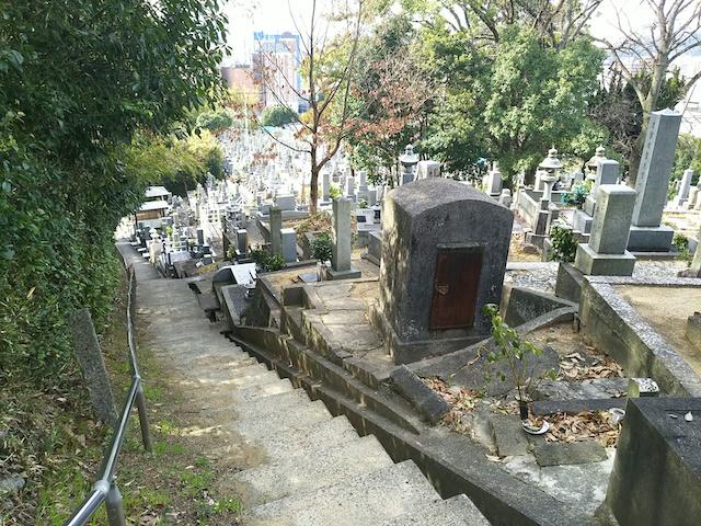 松山市営 鷺谷墓地04