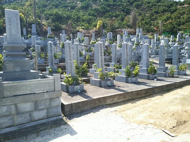 松山市営 北斎院墓地05
