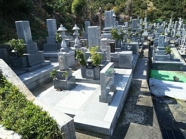 松山市営 北斎院墓地02
