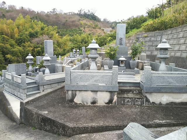 松山市営 平田墓地03