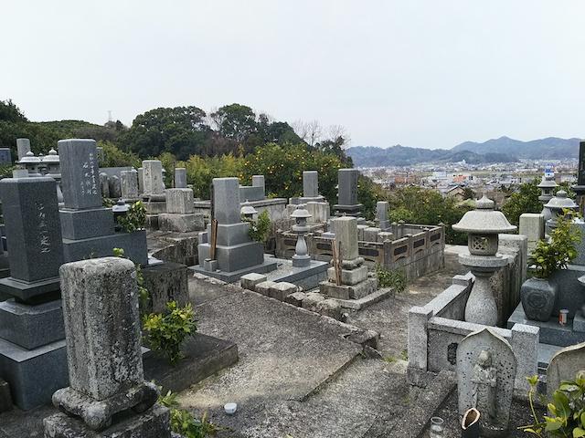 松山市営 平田墓地05