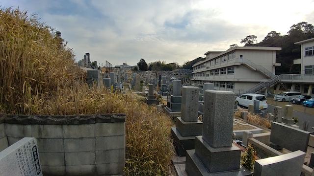 福山市 木之庄町尾之上共用墓地01