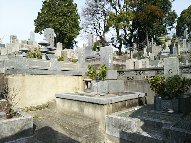 松山市営 鷺谷墓地07