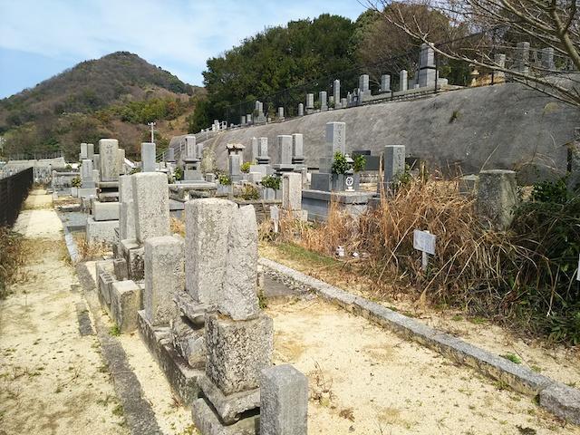 松山市営 大入谷墓地04
