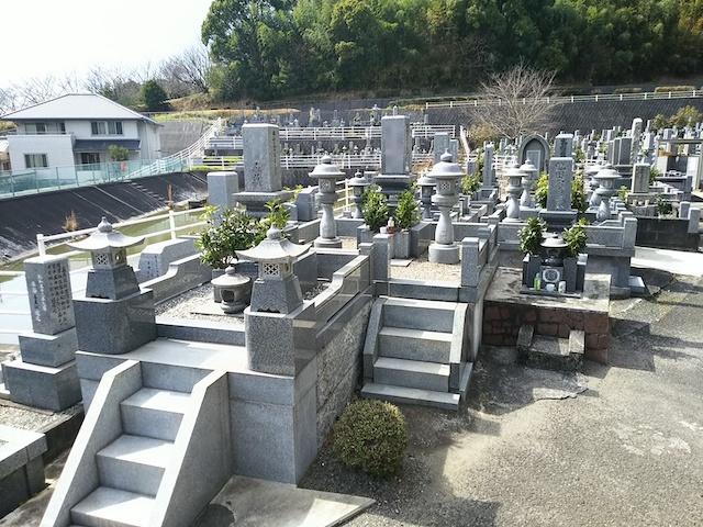 松山市営 客谷墓地04