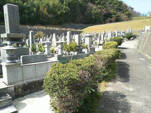 松山市営 客谷墓地02