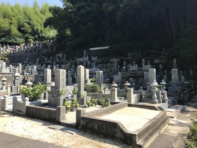 大竹市営 梅ケ滝墓地06