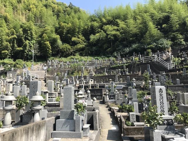 大竹市営 梅ケ滝墓地05