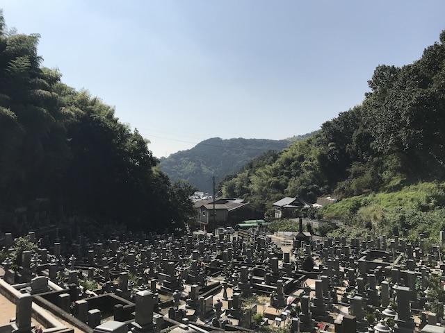 大竹市営 梅ケ滝墓地04