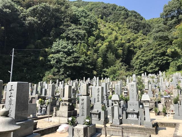 大竹市営 梅ケ滝墓地01