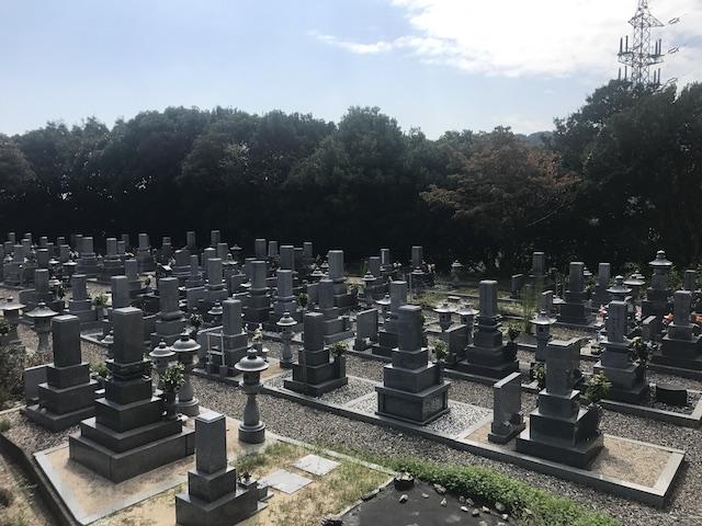 大竹市営黒川墓苑-06