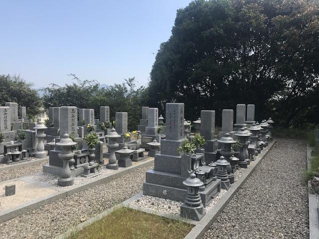 大竹市営黒川墓苑-04