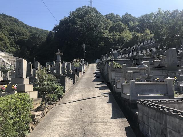 呉市営 鹿田墓地-06