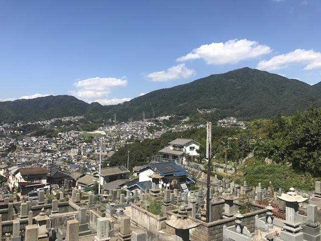 呉市営 鹿田墓地-01