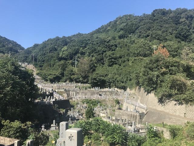 呉市営 二河墓地-04