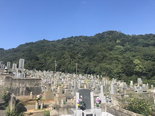 呉市営 二河墓地-02