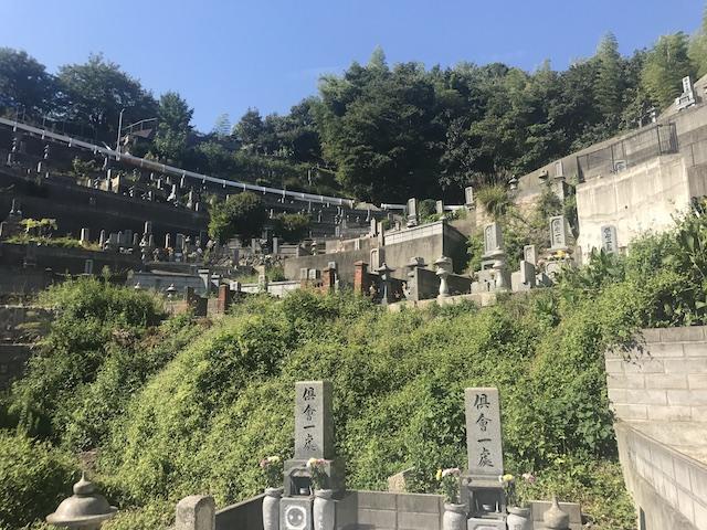 呉市営 二川墓地-05