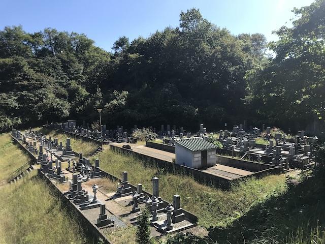 三次市粟屋墓地01