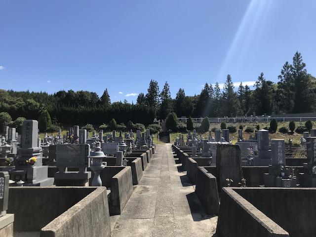 三次市 黄幡墓地06