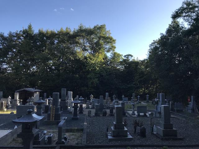 三次市 安田墓地01